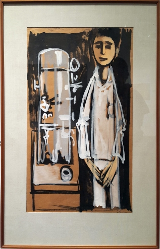 1953 Fernando Zobel - Study for Espresso Machine, Ateneo Art Gallery