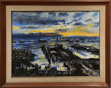 1977 Federico Aguilar Alcuaz - Seascape, Ateneo Art Gallery