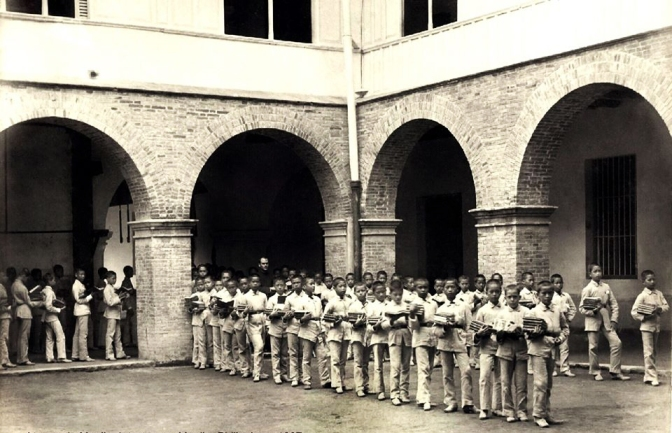 1887 Class-To-Class Brigade (Una Brigada Yendo A Clase), Ateneo de Manila