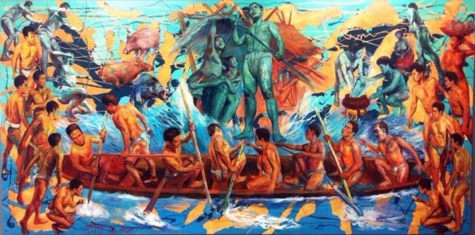 35 2014 Simkin de Pio - Peopling of the Philippines I ; Migration, SiningSaysay, Cubao