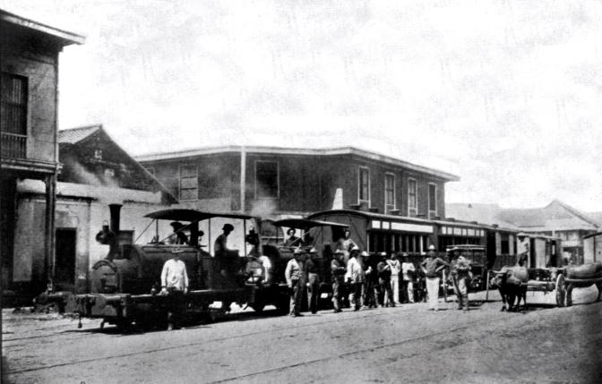 00B 1892 Ferrocarril de Manila-Dagupan