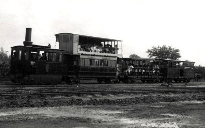00C 1888 Manila-Malabon Line Manila Electric Railroad & Light Company (1904-1945)
