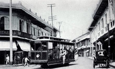1905 Electric Travania, Manila Electric Railroad and Light Company