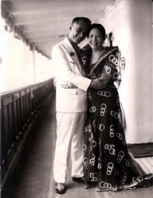 1918 Manuel and Aurora Quezon