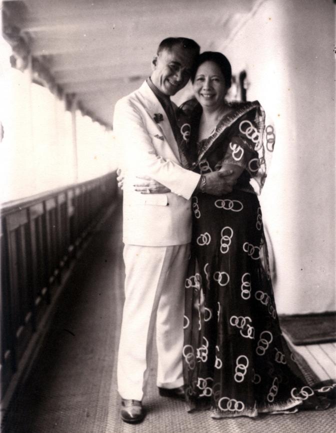 02 1918 Manuel and Aurora Quezon