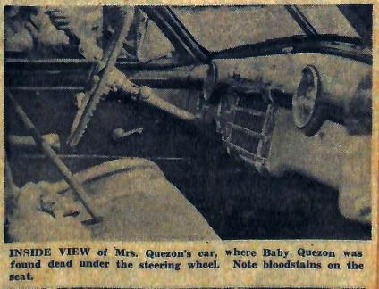 1949 Dona Aurora Quezon Assassination