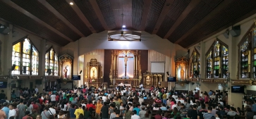 1951 St. Joseph Shrine Altar and Nave, Cubao
