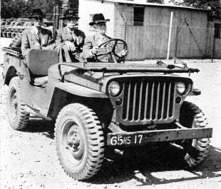 1940s Jeep, Civil War Veterans