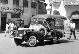 1949 Austin Bantam autocalesa
