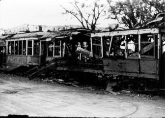 1945 Tranvia Graveyard, Manila