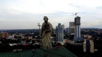 1997 Bojie Pangan - St. Joseph and the Child Jesus, Aurora Milestone