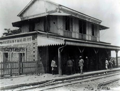 1900s Manila-Dagupan Rail Malolos Station