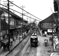 1903 Escolta Electric Tram, Manila