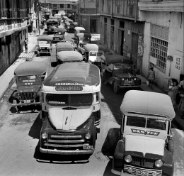 1949 Jeepneys in Quiapo