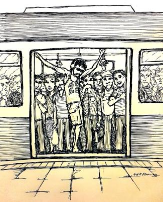 2015 The MRT to Golgotha by Lakan Olivares