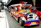 Aurora Boulevard, Quezon City: Religious Jeepney Art and Filipino Machismo