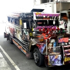 Aurora Boulevard, Quezon City: Religious Jeepney Art and Animals