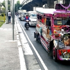 God Bless Our Trip: Religious Jeepney Art along Aurora Boulevard, Quezon City