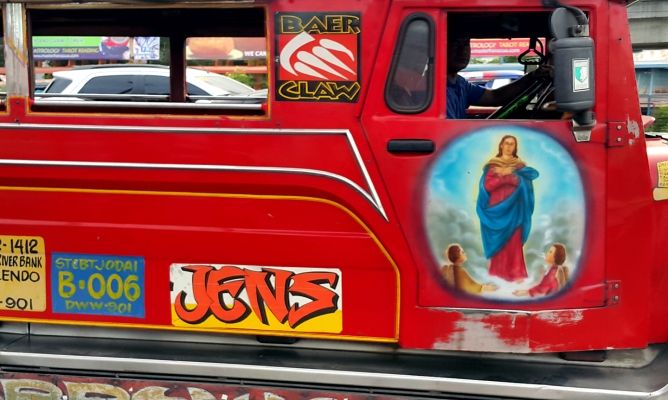 The Assumption of Our Lady of the Red Jeepney