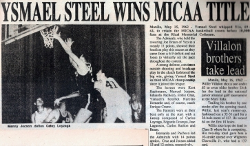 1962 Ysmael Steel retains the MICAA crown