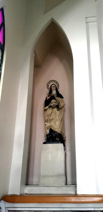 Carmel of St. Thérèse of Lisieux, North Transept, Sta. Teresa de Ávila