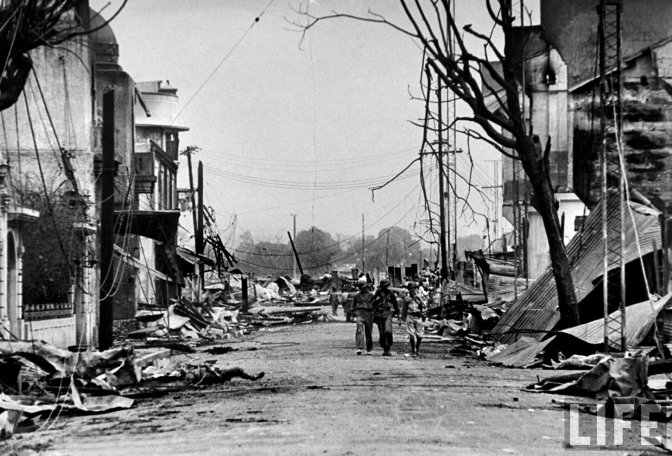 03 1945 Herran Street, after the Battle of Manila