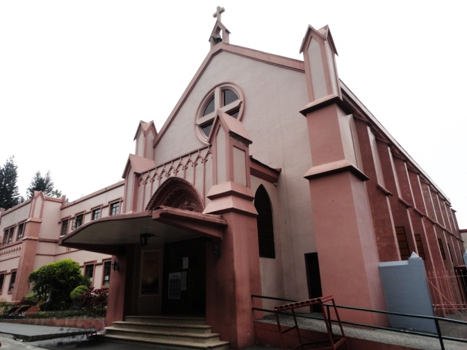 04 1931 Blessed Sacrament Convent in Baguio
