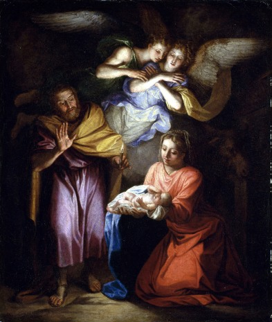 1700s The Nativity by Noël Coypel (1628-1707)