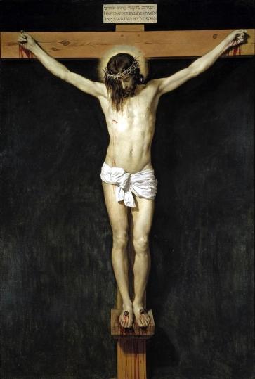 1632 Christ Crucified by Diego Rodríguez de Silva y Velázquez (1599-1660)