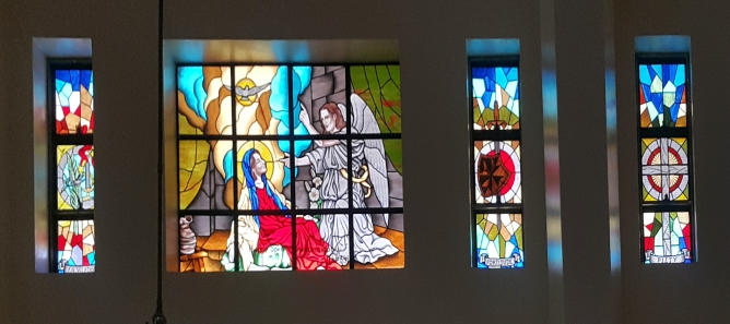 Annunciation, North Aisle, St. Joseph Convent of Perpetual Adoration