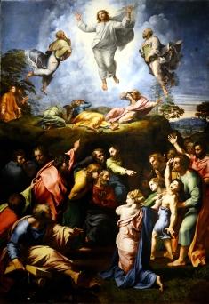 1516-1520 Transfigurazione by Raffaello Sanzio da Urbino (1483-1520)