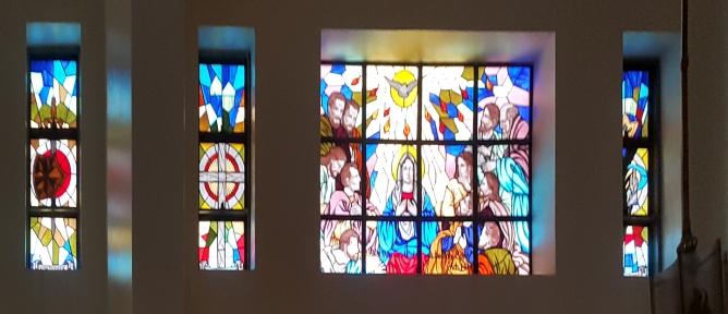 Pentecost, North Aisle, St. Joseph Convent of Perpetual Adoration