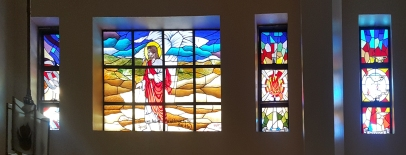 Temptation of Jesus in the Wilderness, South Aisle, St. Joseph Convent of Perpetual Adoration
