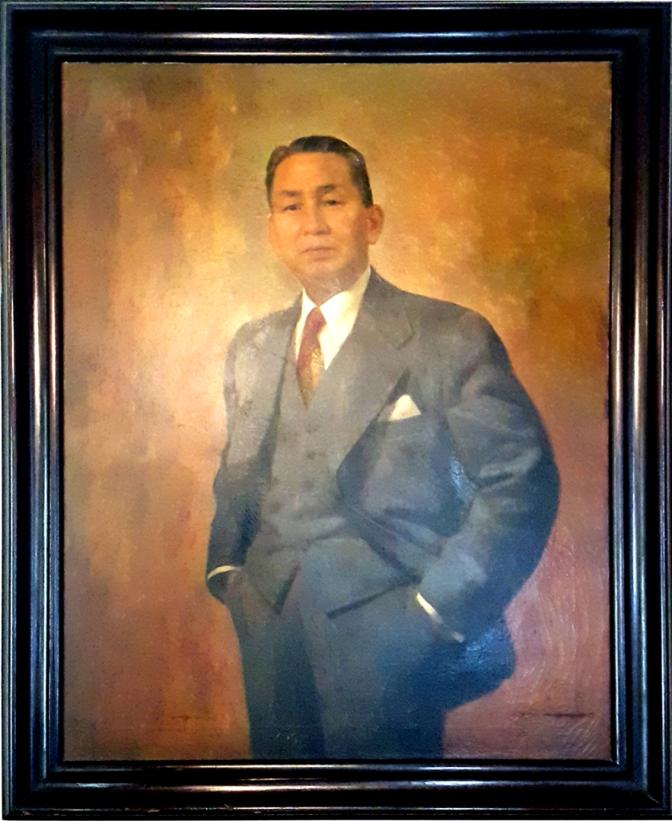 08 1953 Fernando Amorsolo - Sen. Jose Olfinas Vera (1888-1956)
