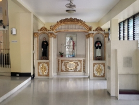 Narthex Altar, St. Joseph Convent of Perpetual Adoration
