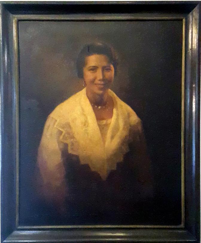 09 1957 Felix Gonzalez - Doña Azucena 'Nene' Honrado Vera-Perez (1917-2014)