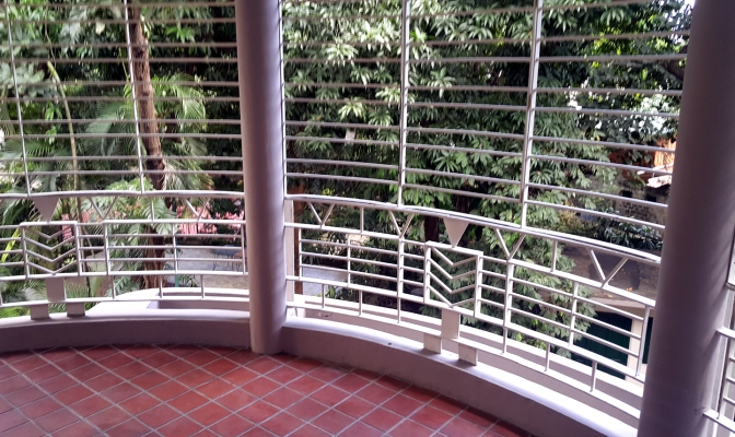 11 1940 Window of the Vera-Perez Home that overlooks the Garden, Sampaguita Pictures Studio