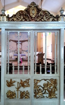 Cloister Grille, St. Joseph Convent of Perpetual Adoration