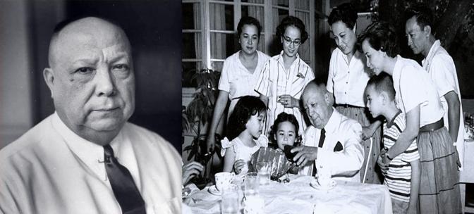 14 Senator Vicente María Epifanio Madrigal-López y Pardo de Tavera (1880-1972)