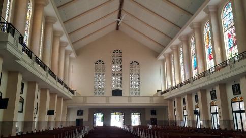 1964 Narthex and Choir Loft, Our Lady of Mount Carmel Parish & Shrine
