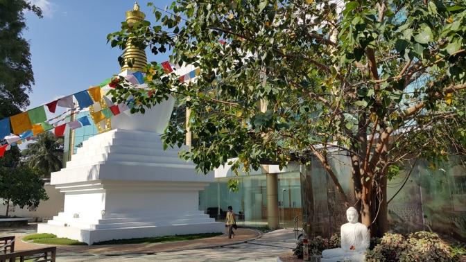 02 2012 Stupa of Dêgê, Wisdom Park