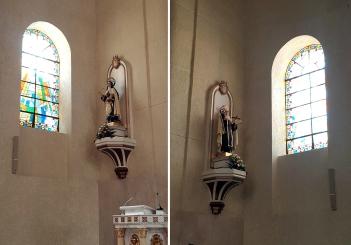 1964 Transept, Santa Teresa & Saint John of the Cross