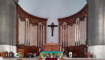 1964-2015 Altar, Our Lady of Mount Carmel Parish & Shrine