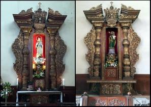 1964 Transept Altars, Talleres de Maximo Vicente, Our Lady of Mt. Carmel