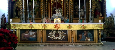 1954-1962 Most Holy Redeemer Parish, Altar Table