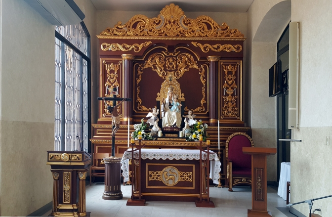 07 Seat of Wisdom Chapel