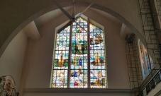 1964 South Transept : St. Thérèse of Lisieux, St. Joseph, & the prophet Elijah