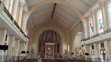 2017 Nave, Our Lady of Mount Carmel Parish & Shrine, Nave and Altar