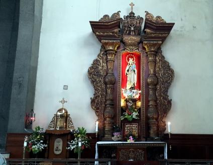 1964 Transept South, Talleres de Maximo Vicente, Our Lady of Mt. Carmel