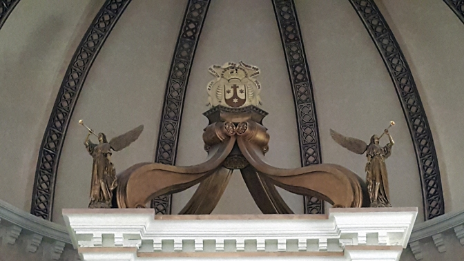 17 2016 Baldacchino, Our Lady's Altar